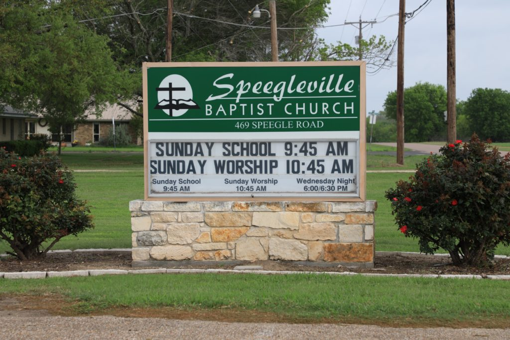 Sunday Times | Speegleville Baptist Church